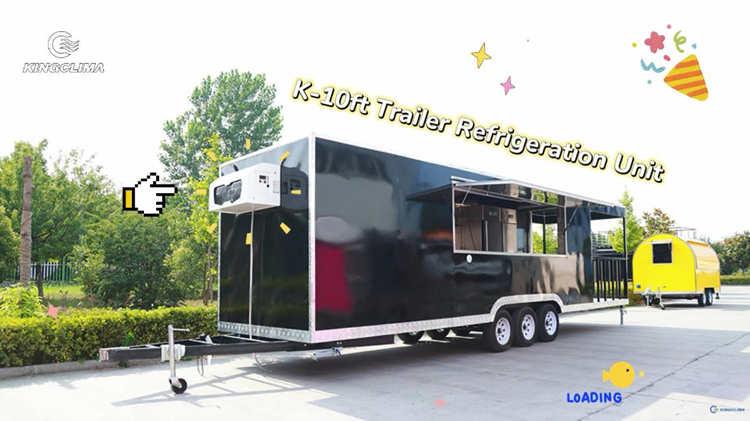 K-10ft Trailer Refrigeration Unit Customer Feedback