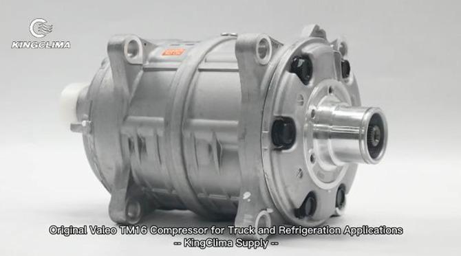 Original Valeo TM16 Compressor for Truck and Refrigeration Applications