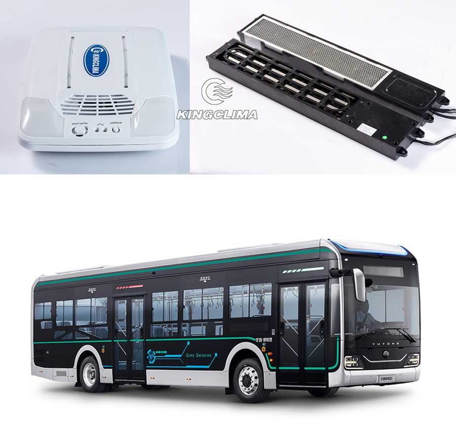 Bus air purifier system popular in public bus delivery
