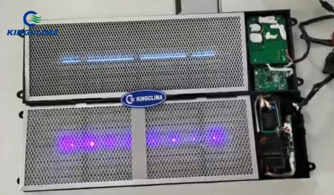 KingClima LED Bus Air Purifier System